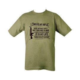 Kombat This Is My Rifle T-shirt - Olive Green