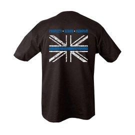 Kombat Thin BLUE Line T-Shirt