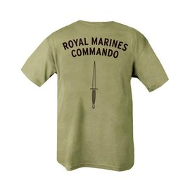 Kombat Royal Marines Commando T-shirt - Olive Green