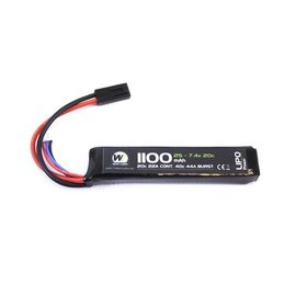 Nuprol 1100Mah 7.4V 20C Stick Type