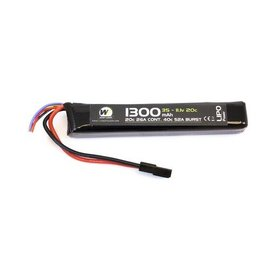 Nuprol 1300Mah 11.1V 20C Stick Type