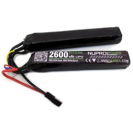 Nuprol NP POWER 2600MAH 11.1V LIPO TWIN-STICK BATTERY