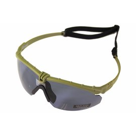 Nuprol NP BATTLE PRO'S - GREEN FRAME / SMOKED LENSE