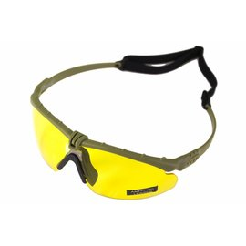 Nuprol NP BATTLE PRO'S - GREEN FRAME / YELLOW LENSE
