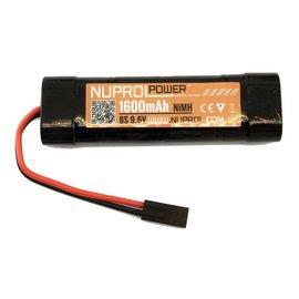 Nuprol Np Power 1600Mah 9.6V Nimh Small Type