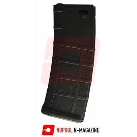 Nuprol N-Mag Mid-Cap Magazine 30/125Rnd - Black