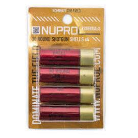 Nuprol NUPROL SHOTGUN SHELL PACK (4PC)