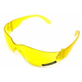 Nuprol PROTECTIVE AIRSOFT GLASSES - YELLOW LENSE