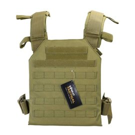 Kombat Spartan Plate Carrier - Coyote
