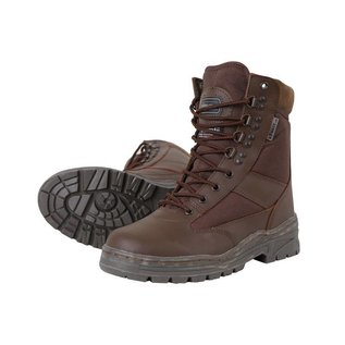 Kombat Patrol Boot - Half Leather/Half Nylon - MOD Brown
