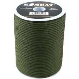 Kombat Paracord - 100m Reel - Olive Green