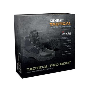 Kombat 6 Inch Tactical Pro Boot - Black
