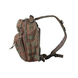 Kombat Mini Molle Recon Shoulder Pack - Green/Red