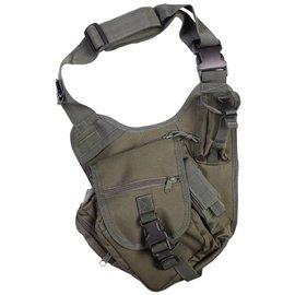 Kombat Tactical Shoulder Bag 7 Litre - Olive Green