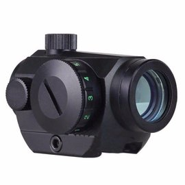 WBD Airsoft 1X24MM MICRO T-1, T1 RED DOT RIFLE SIGHT