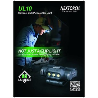 Nextorch NEXTORCH UL10 COMPACT MULTI-PURPOSE CLIP LIGHT