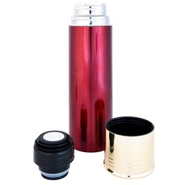 Kombat Cartridge Flask 750ml - Metallic Red