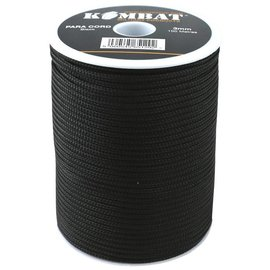 Kombat Paracord - 100m Reel - Black