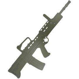 Kombat 2 x SA80/L98A2 Wooden Training Aid/Gun