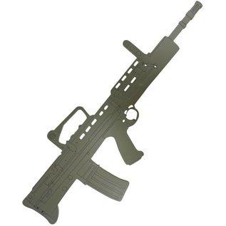 Kombat SA80/L98A2 Wooden Training Aid/Gun