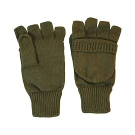 Kombat Shooters Mitts - Olive Green
