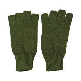 Kombat Fingerless Gloves - Olive Green