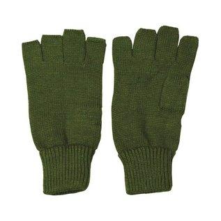 Kombat Fingerless Gloves - Olive Green