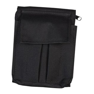Kombat A6 Notepad Holder - Black