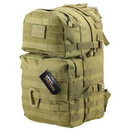 Kombat Medium Molle Assault Pack 40 Litre - Coyote