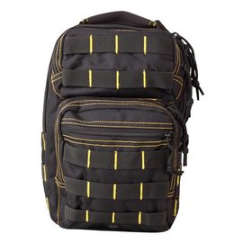 Kombat Mini Molle Recon Shoulder Pack - Black/Yellow