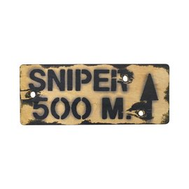 Kombat Sniper 500m Sign