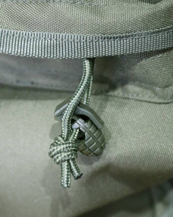 GREEN GRENADE CORD STOPPER PACK OF 8 NEW