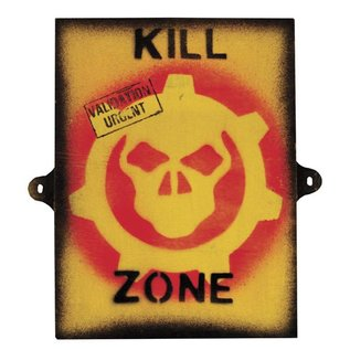 Kombat KILL ZONE SIGN