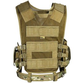 Kombat Cross Draw Tactical Vest - BTP