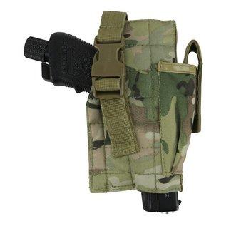 Kombat Molle Gun Holster with Mag Pouch - BTP
