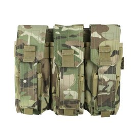 Kombat Triple Mag Pouch with PISTOL Mag - BTP