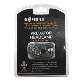 Kombat Predator Headlamp