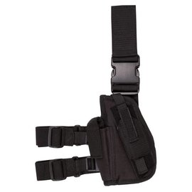Kombat Tactical Leg Holster Left Handed - Black