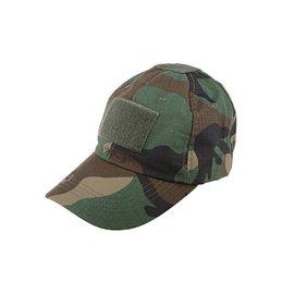Gunfire Tactical cap - woodland