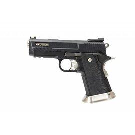 WE WE HI-CAPA 3.8 Velociraptor GBB Pistol (Black Silde)