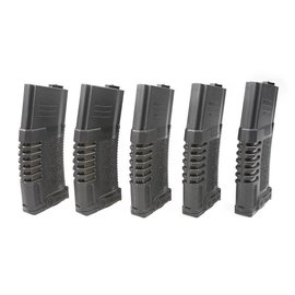 Ares 140rd PMG mid-cap magazine for M4/M16 type replicas - black
