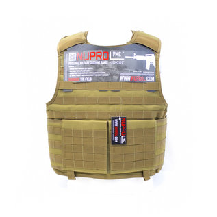 Nuprol Nuprol PMC PLATE CARRIER - TAN