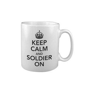 Kombat Keep Calm & Soldier On MUG