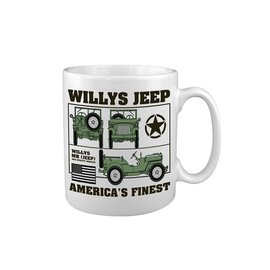 Kombat Willys Jeep MUG