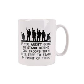 Kombat Behind Troops MUG