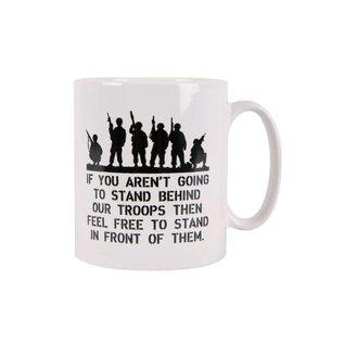 Kombat Behind Troops MUG