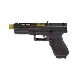 Secutor Secutor - Gladius - 17 Series Custom Pistol (Gold Barrel - Co2 Powered - Gas Ready - Black - Ex. Display)