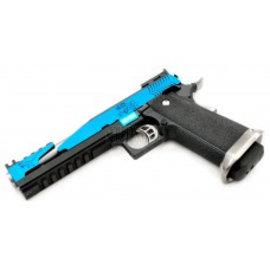 WE WE Custom Hi-Capa IREX GBB (6 Inch - Blue - Type-C)
