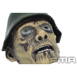 FMA Airsoft Wire Mesh World War II Zombie Full Face Mask