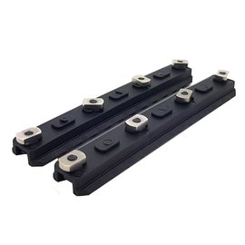 "Ares AresAmoeba 5.0"" M-Lok Key Rail System (2pcs - ABS - AM-ML-R-006)"